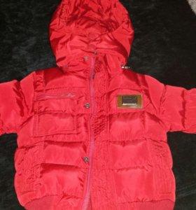 Детская куртка 12-18 месяцев