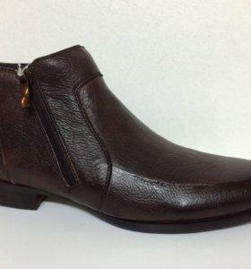 Новые ботинки VS коричневые