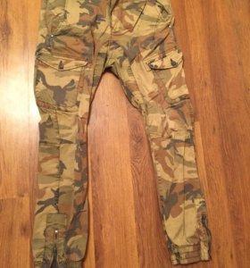 Камуфляжные штаны  новые