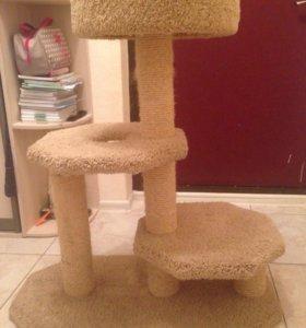Домик(когтеточка) для кота
