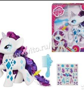 My Little Pony. Пони-модница Рарити, 3+