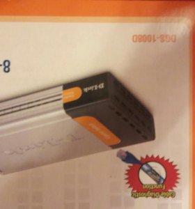 D-Link switch DGS1008D
