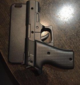 Чехол-пистолет для iphone 6