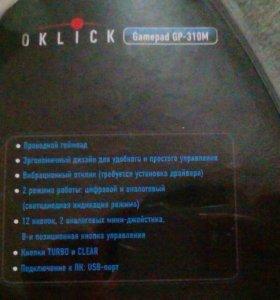 Геймпад OKLICK Gamepad GP-310M