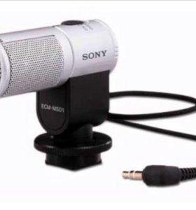 микрофон сони (sony) накамерный