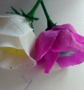 """Цветок """"мыльная роза"""""""