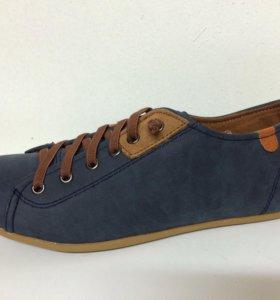 Новые полуботинки Hardwood синие