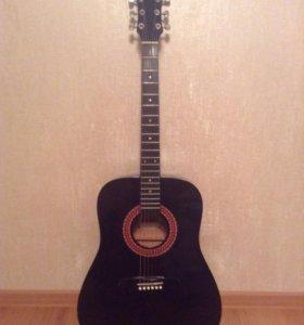 Акустическая гитара Hohner HW220TBK