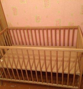 Кроватка детская-икеа