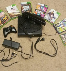 Xbox 360 +kinect + Игры