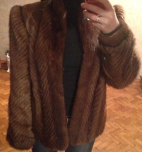 Норковый пиджак