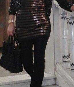 Платье паетки.