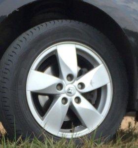 Комплект колёс Рено Меган
