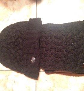 Набор женский adidas (шапка + шарф )