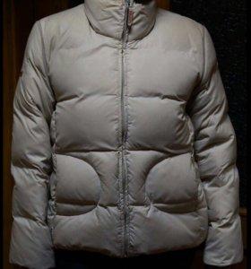 Куртка-жилет (пуховик, зима, перо)