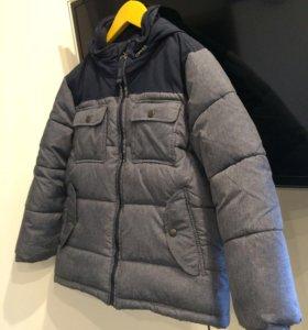 Теплая куртка для мальчика зима, осень