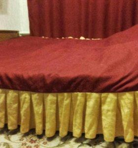Кровать 2*1.90