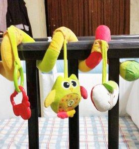Растяжка/спираль для детской кроватки.