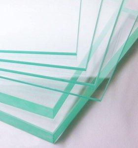 Стекла витринные Каленые  10мм прозрачные