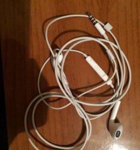 Наушники iPhone 5 s