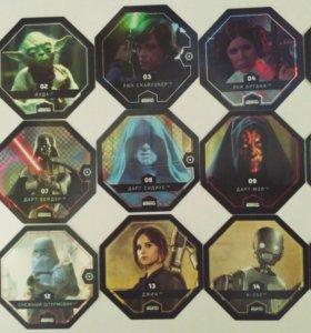 Коллекционные фишки Star Wars(Магнит)