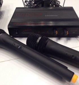 Микрофоны Solista UHF-550