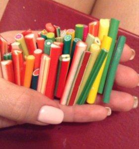 Фрукты,для дизайна ногтей