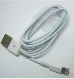 Usb кабель зарядка для 4,4s,5,6,7 iphone