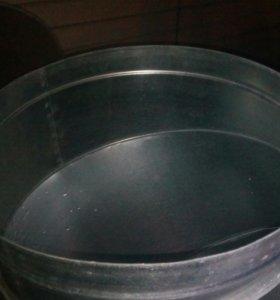 Отвод оцинкованный диаметр 500
