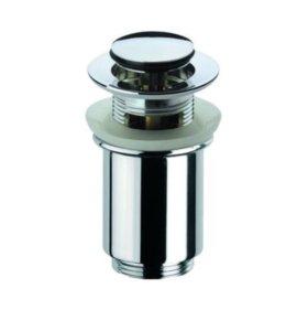 Донный клапан для ванны Хром