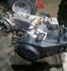 157 QMJ двигатель 150 кубов