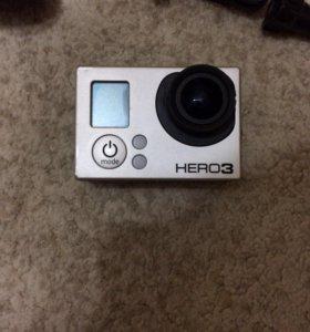 GO PRO HERO 3 с аксессуарами