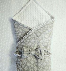 Одеялко-конверт на выписку