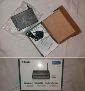 Wireless N 150 ADSL2+ Modem Router