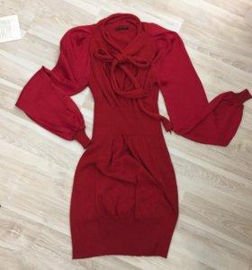 Коктейльное платье Sisley