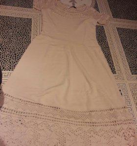 Трикотажное платье Stoff