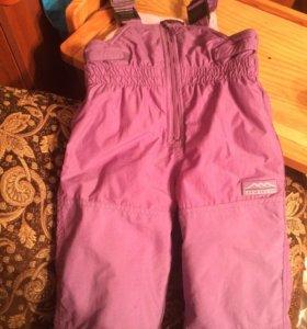 Комбинезонные штаны зимние