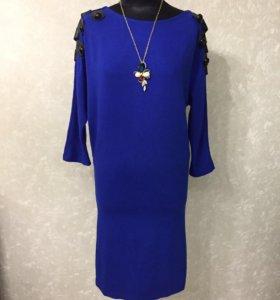 Синее платье НОВОЕ ТУРЦИЯ