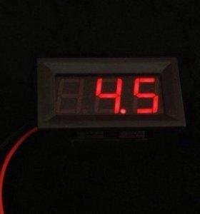 Авто Вольтметр цифровой 4.5-30 v