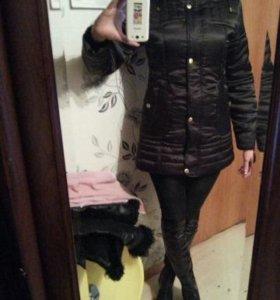 Куртка - пальто новое зимнее 42р
