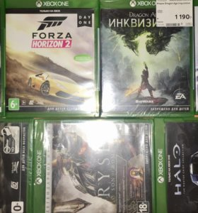 Игры Xbox one: forza, bf, dragon age