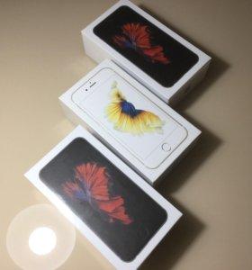 IPhone 6s 16/64 Гб (новые на гарантии)