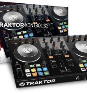 Новый Native Instruments Traktor Kontrol S2 mk2