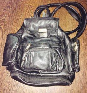 Рюкзак 🎒 кожаный