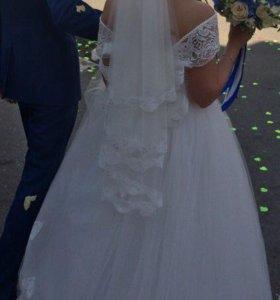 Свадебное платье 38-40-42