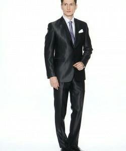 Мужской костюм Absolutex exlusive Slim Fit