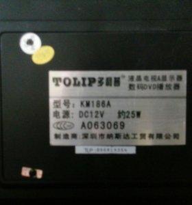 Телевизор Tolip Китай (12, 220 V)