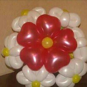 Оригинальный букет из воздушных шаров