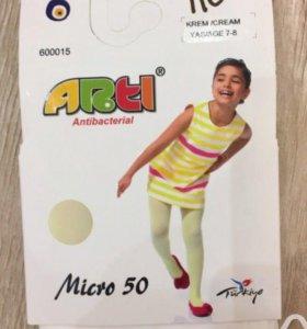 Детские новые колготки Arti(Турция)