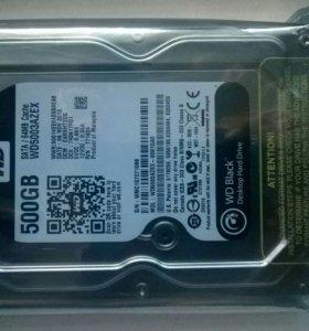 Жесткий диск 500gb новый